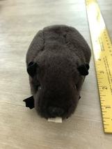 LIKE NEW Folkmanis Plush Beaver Finger Puppet  - $1.49