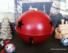 Pottery Barn Giant Jingle Bell Ornament -NIB- Ring In Noel In A Really Big Way! - $24.95