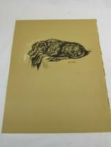Lucy Dawson 1937 Dog Print Vintage 51715 - $19.79
