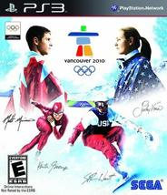 Vancouver 2010 - The Official Video Game of the Olympic Winter Games - P... - $9.39