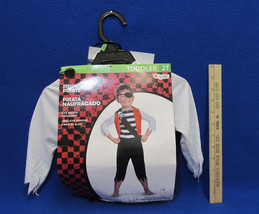 Shipwreck Pirate Halloween Toddler Costume 2T w/ Eye Patch Disguise NWT - €9,72 EUR