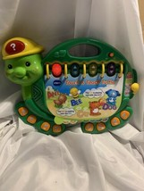 VTech Touch and Teach Turtle Book Educational Baby Activity Alphabet Numbers EUC - $21.77