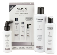 Nioxin System 1 Kit  normal to thin-looking, fine, natural hair