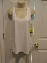 NWT Women xersion quick- dri  WHITE RACER BACK tank top size PETITE XL  PXL - $18.80