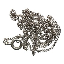 Vintage Silver Chain Jewellery Necklace Accessories (DEV342-) - $11.00