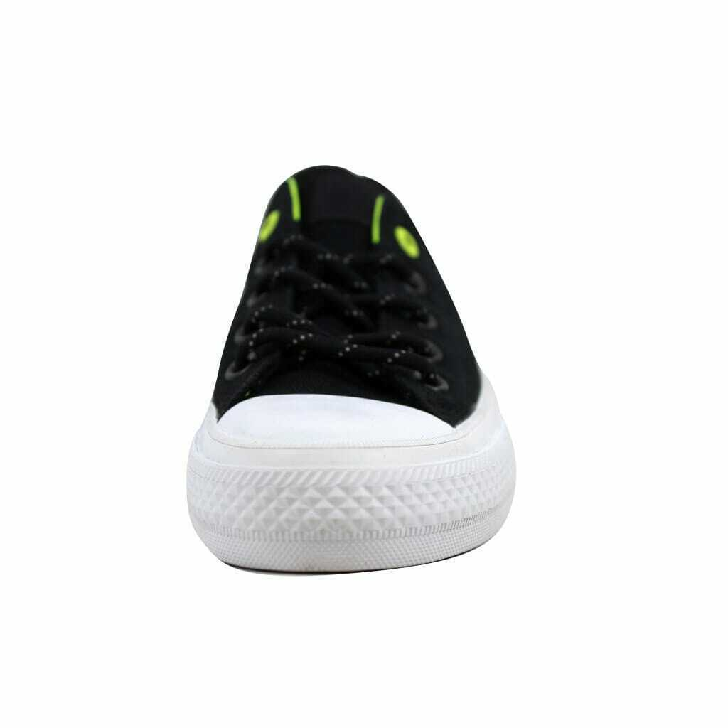 Converse Chuck Taylor II 2 OX Black/Volt Men's 153541C Size UK 4
