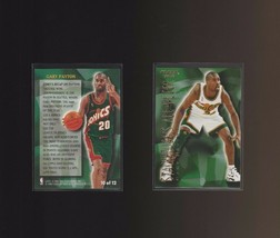 1996-97 Fleer Stackhouse's All-Fleer #10 Gary Payton Seattle Supersonics - $1.00