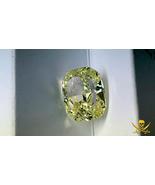 10.10 CARAT FANCY YELLOW DIAMOND GIA CERT CUSHION CUT PIRATE GOLD COINS ... - $590,000.00