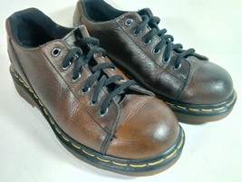 Dr. Martens Womens Shoes Size 5 Brown Leather Lace Up AW004 (S6) - $44.95