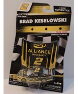 2018 BRAD KESELOWSKI #2 ALLIANCE NASCAR AUTHENTICS 1:64 W/MAGNET HOOD - $9.95