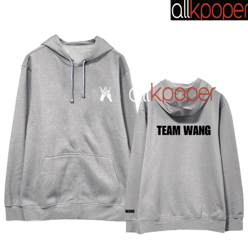 KPOP GOT7 JACKSON Cap Hoodie Hoody Pullover Sweatershirt TEAM WANG