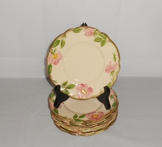Franciscan Desert Rose Bread Plates Set of 8 Pottery Dinnerware Made in USA - $30.00