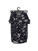 Women's Black Polyester Fleece Snow Flake 3-Piece gloves scarf Hat Winte... - $14.39