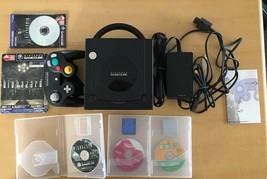 Nintendo Gamecube Black System console lot Japan Import - $69.29