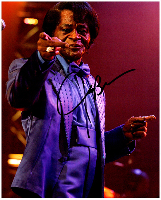 Primary image for JAMES BROWN  Authentic Original  SIGNED AUTOGRAPHED PHOTO W/COA 45065