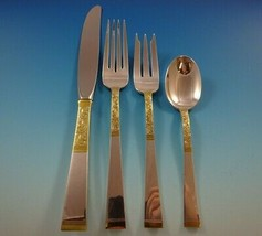 Golden Scroll by Gorham Sterling Silver Flatware Set for 8 Service 32 Pieces - $1,930.50