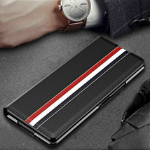 For Samsung Galaxy Z Fold 3 2 5G Case Magnetic Leather Wallet Flip back Cover - $94.68