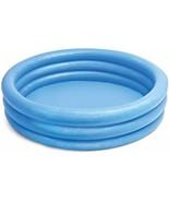 "Intex Crystal Blue Inflatable Pool 45 x 10"" - $15.97"