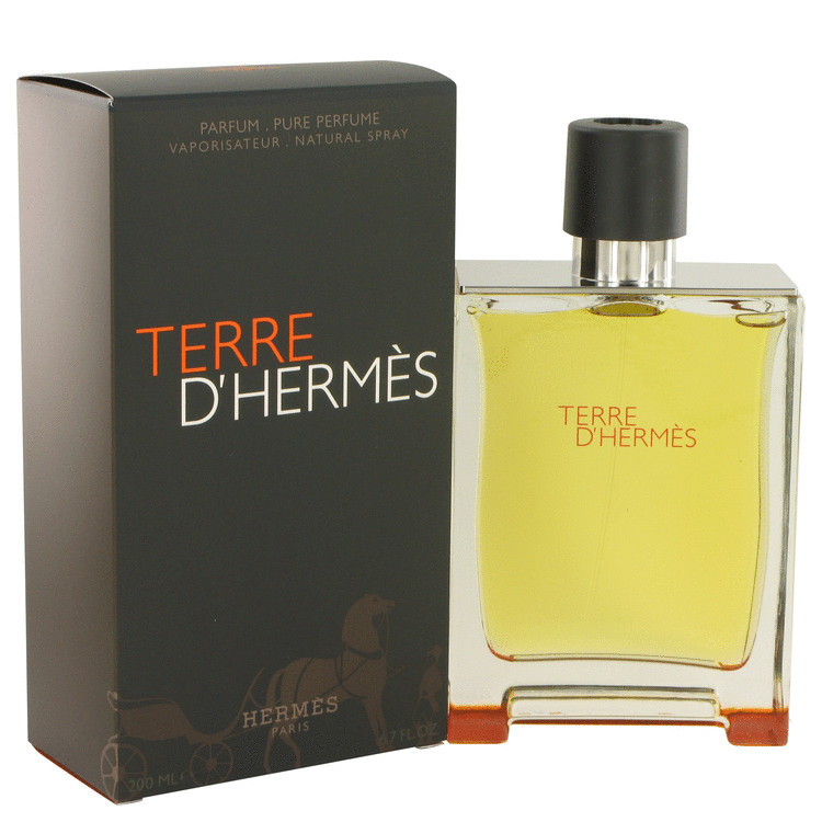 Hermes terre d hermes 6.7 oz pure perfume
