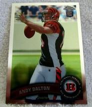 Andy Dalton Rc 2011 Topps Chrome Rookie Passing Card Gem PSA10?BENGALS Qb RC-V5 - $14.84