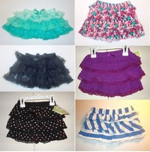Circo Infant Toddler Girls Tiered Ruffle Skorts/Skirts Various Colors Si... - $7.99