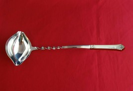 """Damask Rose By Oneida Sterling Silver Punch Ladle 13 3/4"""" Twist Hhws Custom Made - $79.00"""