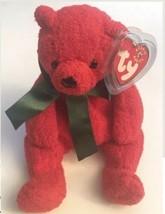 TY Beanie Baby Mistletoe The Bear 2000 - $6.88