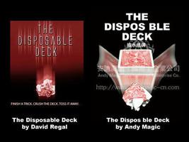 20pcs Lot of Disposable Deck David Regal Magic Card Trick Close Up Funny... - $20.78