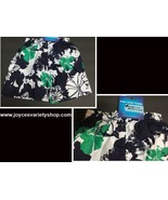 "Boy's Swim Shorts Trunks Blue, Green & White Floral 8.26"" x 11"" SZ 2/3 T... - $6.99"