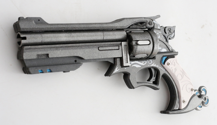 Overwatch McCree Skin Riverboat Weapon Revolver Cosplay Replica Peacekeeper Buy