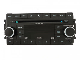 Chrysler Dodge Jeep CD6 MP3 DVD Sirius U-Connect radio w/ aux. REQ CD 6 ... - $179.91
