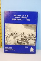 Battles of the First Empire MARENGO 1800 - Historical Concepts 1984 Unpu... - $36.63
