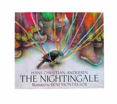 The Nightingale HCDJ 1st Edition Illustrated by Beni Montresor Classic A... - $28.00