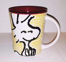 Peanuts Wood Stock 15 oz Ceramic Coffee Mug-Cha... - $6.83
