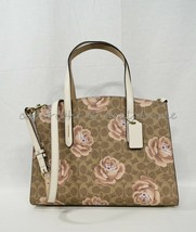 Coach 31667 Charlie Carryall In Signature Rose Print Satchel/Shoulder Ba... - $229.00