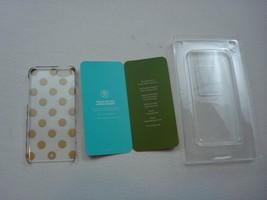 Kate Spade iPhone Case 6/6s Clear/Gold Polka Dot 'Le Pavillion' - $22.80