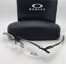 OAKLEY Titanium Eyeglasses WINGFOLD EVR OX5118-0253 Rimless Polished Bla... - $239.95