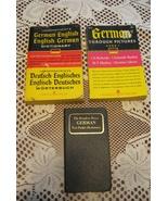 VTG German Resources-Set of 3-Soft Cover-Published NY-961&1967 - $7.00