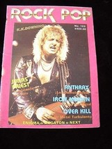 Rock Pop #163 Judas Priest Anthrax Iron Maiden Overkill and more - $16.99