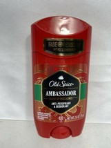 Old Spice Ambassador Anti-Perspirant and Deodorant 2.6 Oz 8/21 - $4.74