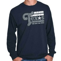Vintage Texas Lone Star State Pride Southern Country TX Long Sleeve Tee - $9.99+