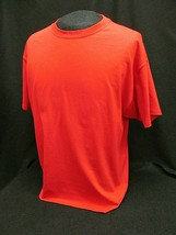 Hanes Beefy T ~ 100% Cotton Red Crewneck Tee T-Shirt ~Size Xl ~ Nwot~ Usa - $9.40