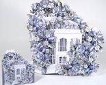 Blue porcelein birdcage set thumb155 crop
