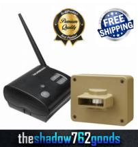 Chamberlain Motion Sensor Wireless Motion Alert Safe Driveway Alarm Weat... - $70.60