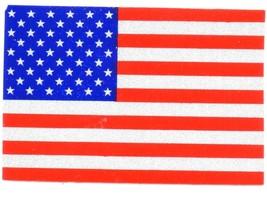 "AMERICAN FLAG Highly Reflective Vinyl U.S. FLAG DECAL - 2"" x 3"" - $4.94"