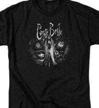 Corpse Bride t-shirt gothic Tim Burton animated movie Graphic tee WBM212 image 3