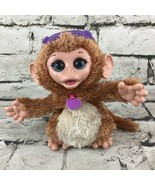 Fur Real Friends Baby Cuddles My Giggly Monkey Tiger Electronics Animate... - $19.79