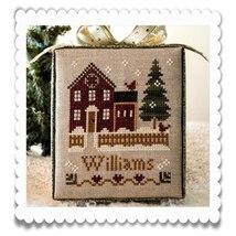MY HOUSE release #1 Hometown Holidays cross stitch chart Little House Ne... - $5.40