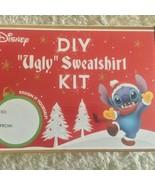 NEW Disney DIY Ugly Sweater Christmas Stitch Kit Womens XL - $27.10
