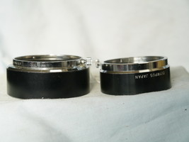 Olympus Metal Lens Hoods for 50mm OM + 40mm Olympus Pen F - Nice Set-  - $20.00